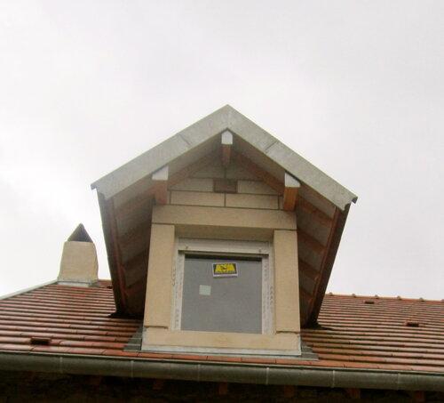 Fenêtre dans le toit plus près