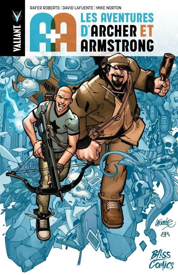 Bliss Comics : A+A Les aventures de Archer et Armstrong