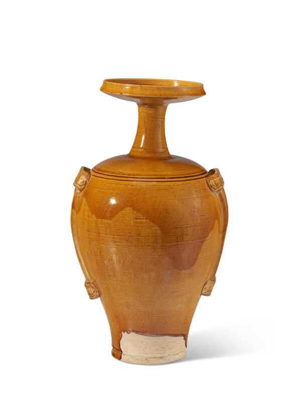An amber-glazed vase, Liao dynasty (907-1125) or later