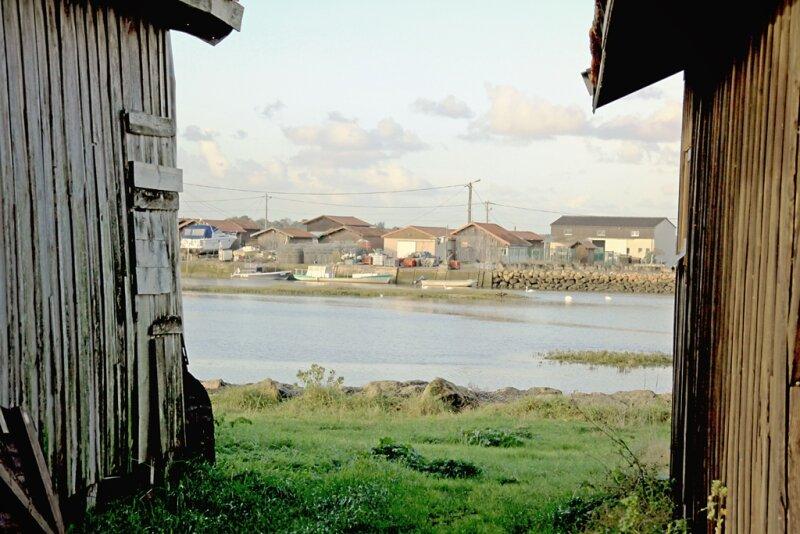 port ostréicole du Larros (gujan-mestras)