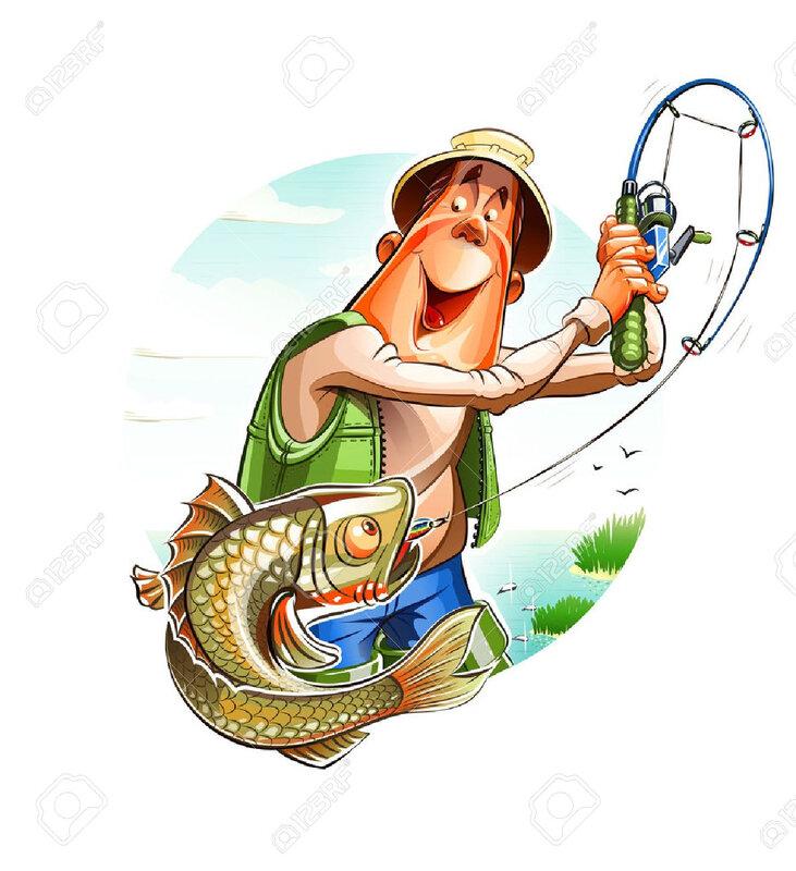 26184670-pêcheur-et-poissons-