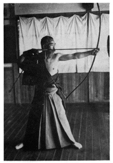 Tir à l'arc au Japon, Kenzô Awa