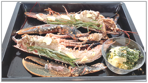 homard grillé à l'estragon7