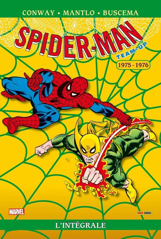 Panini Marvel Intégrale Spiderman Team-up