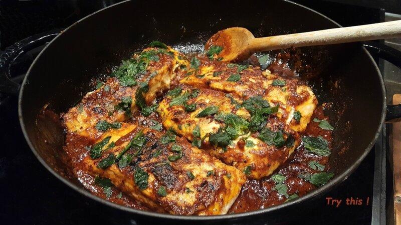 poisson sauce chraimeh 2