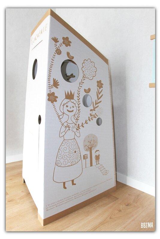 MA CACABANE 2 cabane maison carton enfant kids apprentissage propreté pot wc toilette bbtma blog famille parents bébé pirouette cacahouète
