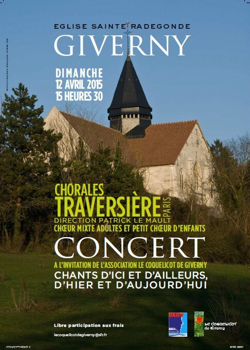 CHORALES TRAERSIERE CONCERT AVRIL 2015