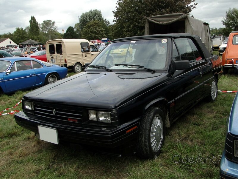 Renault alliance gta 2,0l cabriolet 1987 a