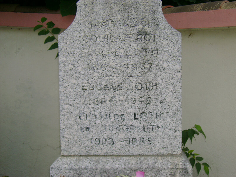 6 - Tombe de la famille Loth-Jungbluth
