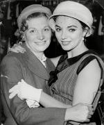 joan collins with her moml