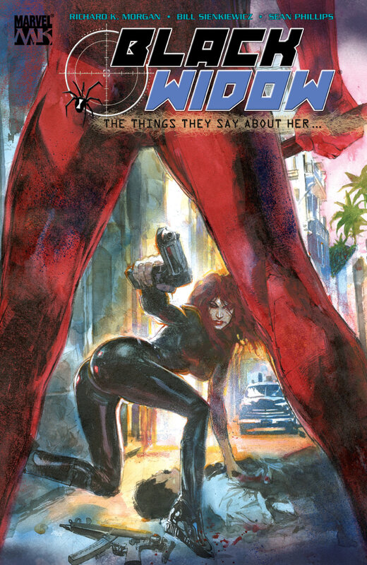 black widow 2005 the things they say about her TPB