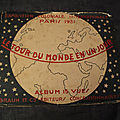 Album 15 vues le tour du monde en un jour exposition coloniale internationale 1931