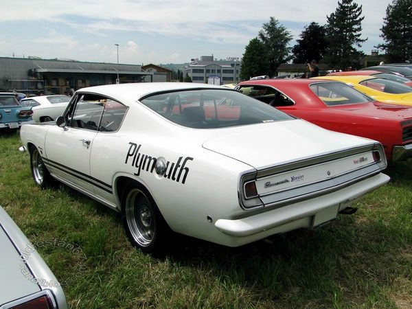Plymouth Barracuda 340 Formula S fastback coupe 1968 2