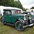 Peugeot 201b coupé d'affaires 1933