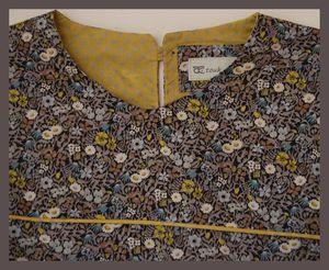 blouse Anna détail