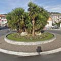 Rond-point à chiavari (italie)