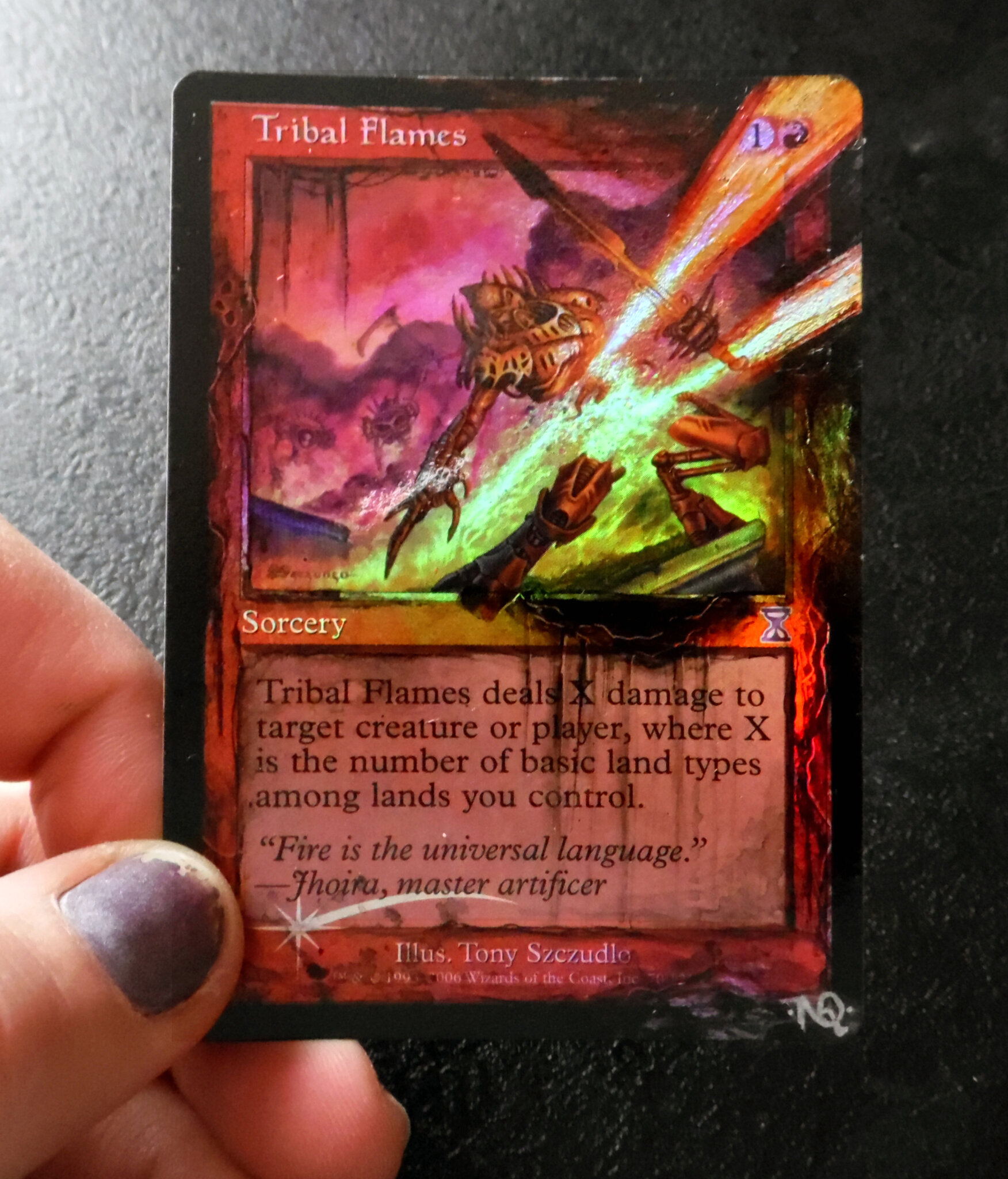 Tribal flames Altered