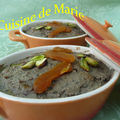 Mousse de foie de volaille aux fruits secs