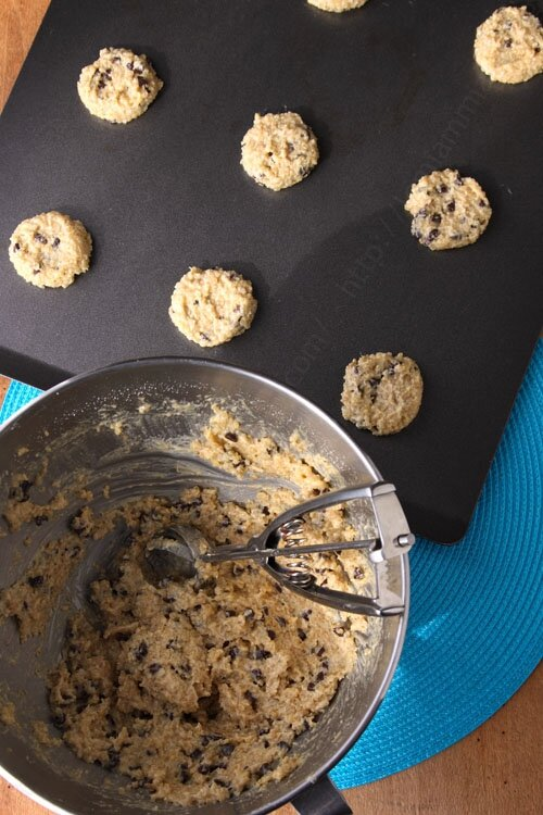 recette simple originale cookies au quinoa 0001 LE MIAM MIAM BLOG