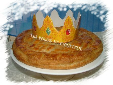 Galette des rois pommes cerises 9