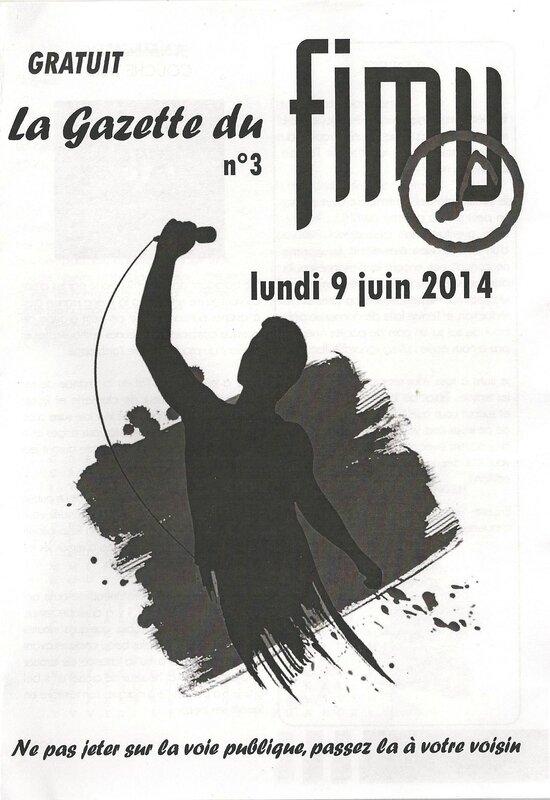 FIMU 2014 Gazette 3 Lundi