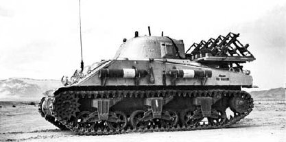 Trinity_Test_-_Lead_lined_Sherman_tank