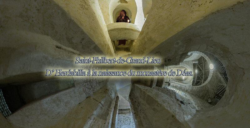 Time Travel Saint-Philbert-de-Grand-Lieu D' Herdabilla à la naissance du monastère de Déas