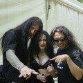Adrian, Amber, Tom Araya