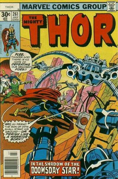 mighty thor 1966 261