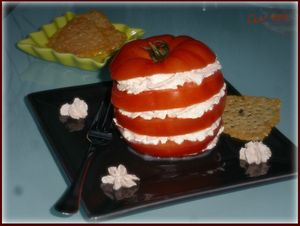Mille-feuille tomate