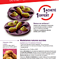 Tupperware vente flash : moule madeleine