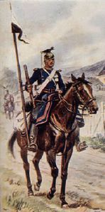 UHLAN PRUSSIEN 1870