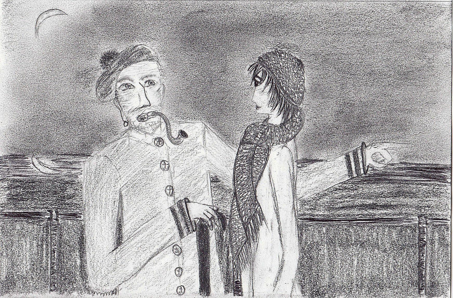 1. Le vieux loup de mer et Milenko.