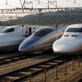 Shinkansen 700, 500 & N700, Minami Hakata depot, Kyûshû