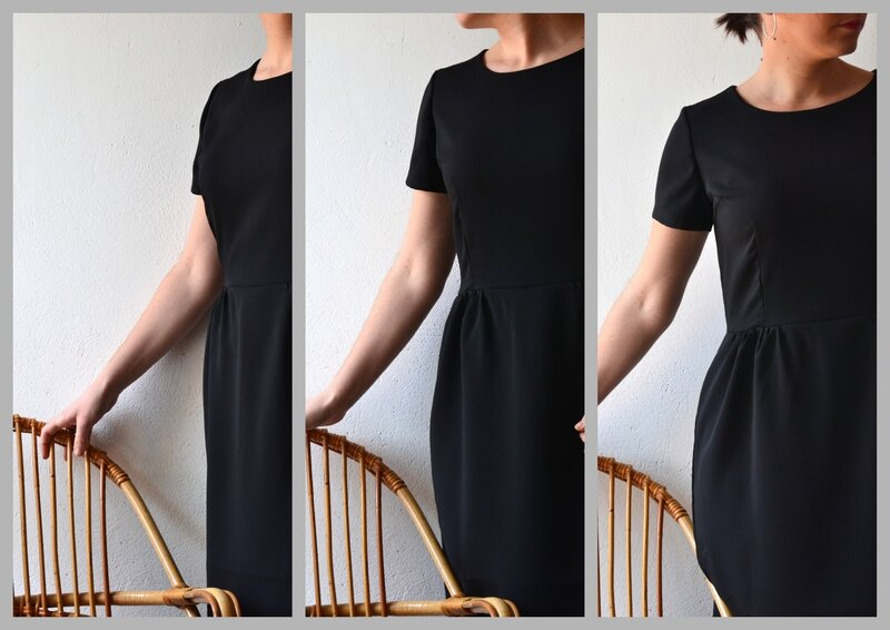 Black Sigma Dress 01-2015