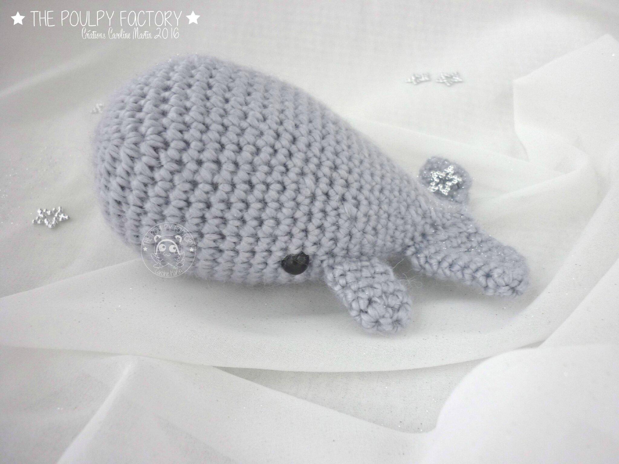 Des baleines amigurumis ! - The Poulpy Factory - le blog