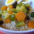 couscous oeuf