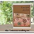 carte kraft & rose
