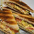 Egg salade sandwich