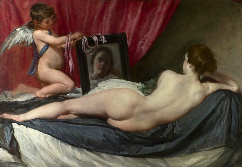 Diego Velazquez, La toilette de Venus, 1647-1651, 123 x 177 cm, Huile sur toile, The National Gallery, © The National Gallery