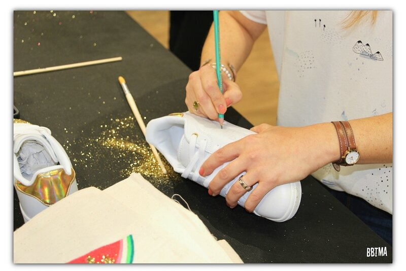 11 diy la halle aux chaussures #diylahalle blogueuse customisation totebag