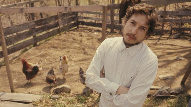dylan and chickens