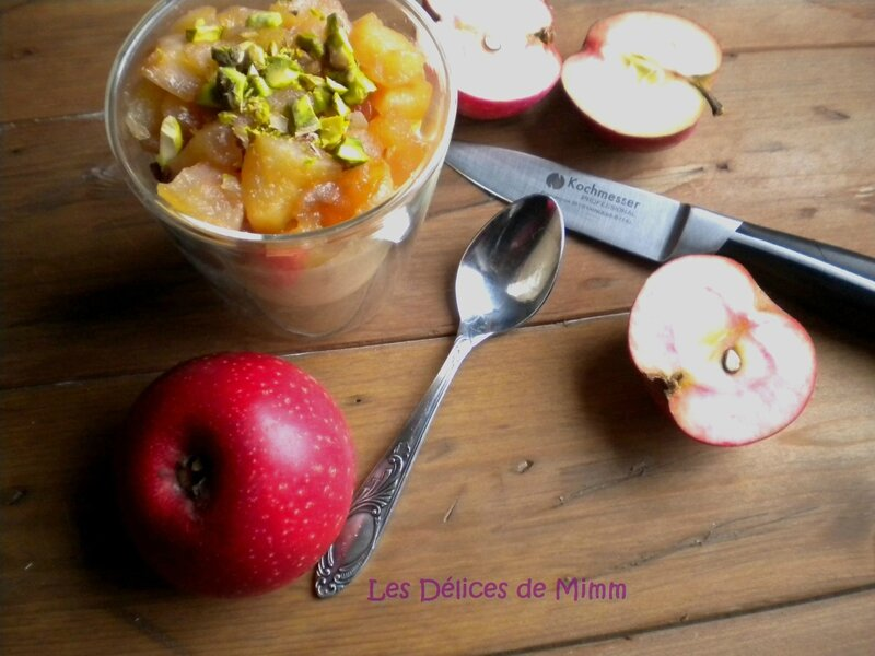 Polenta vanillée et pommes caramélisées 3