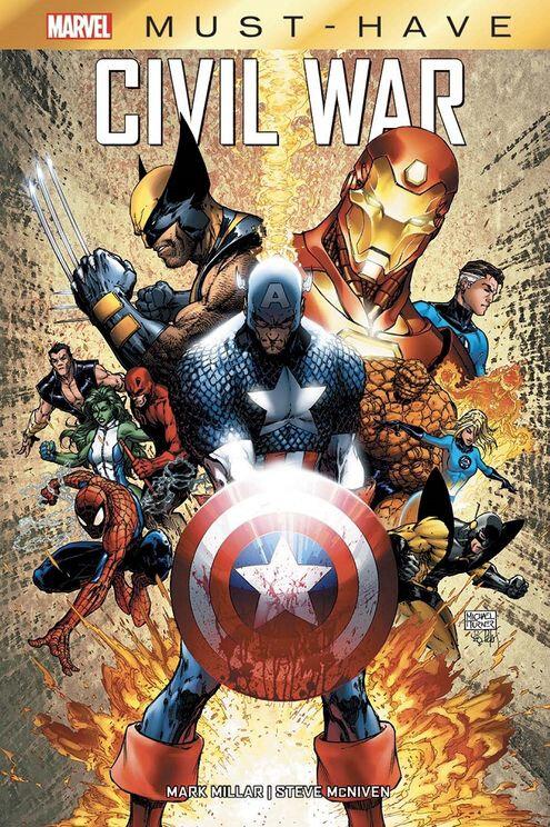 marvel must have civil war