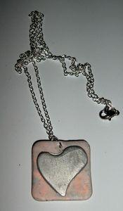collier pendentif coeur pardo