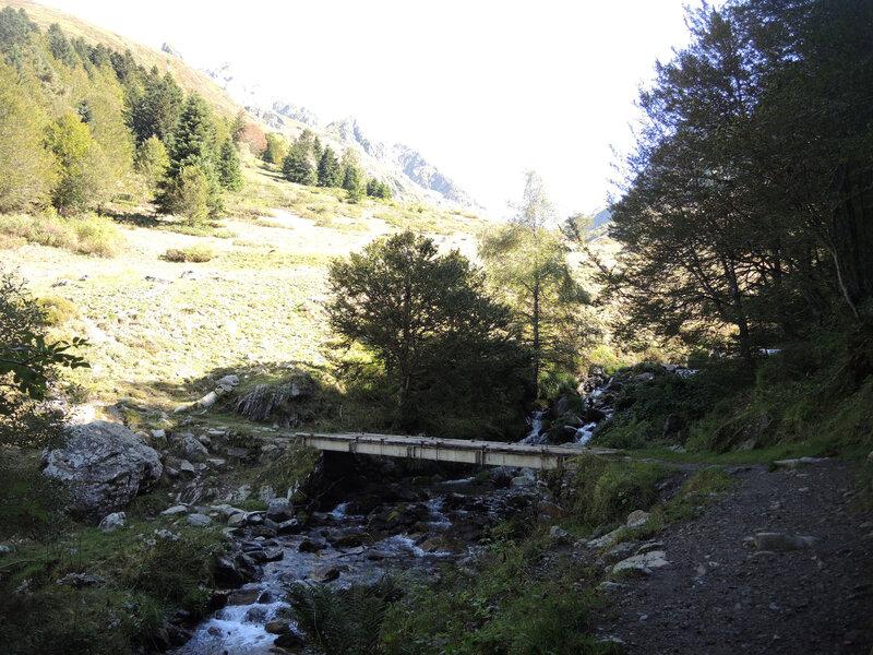 Lac d'Arrious, randonnée, b) sortie du bois