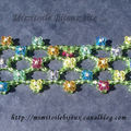 Bracelet swaro fleurs multicolores