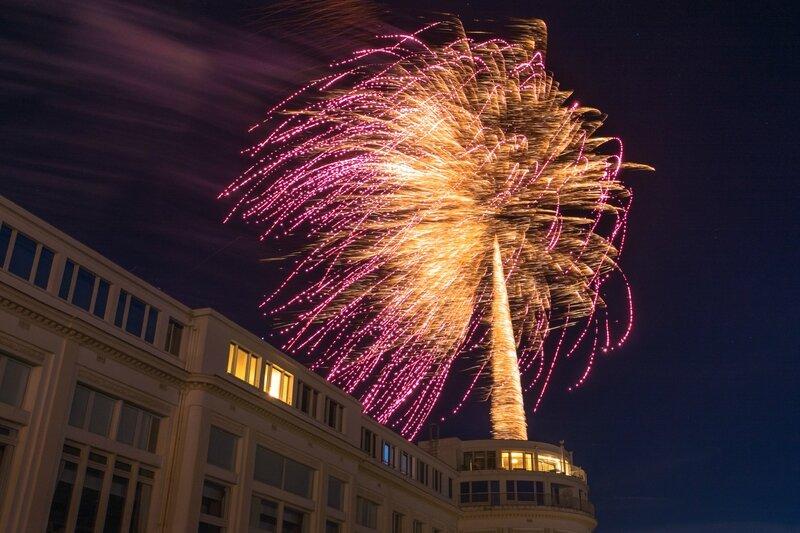 Feu d'artifice 14 jullet, Biarritz-2