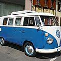 Volkswagen combi split vitré