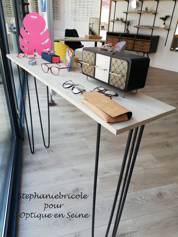console opticien DIY un